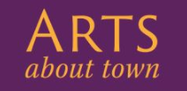 Image of the logo of Arts About Town.