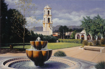 Since 2003 the City of Ojai Public Arts Program has facilitated the creation of new public art works.