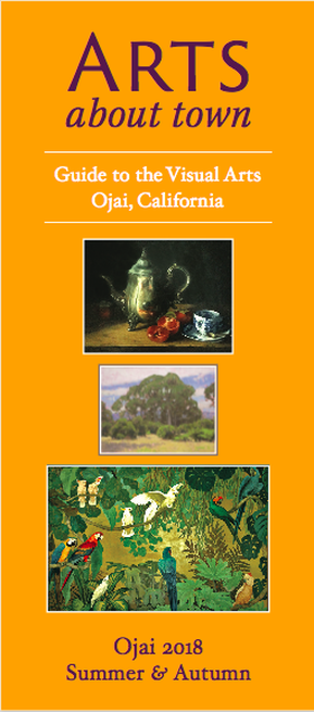Image of the cover of Arts About Town, guide to the visual arts in Ojai, California.